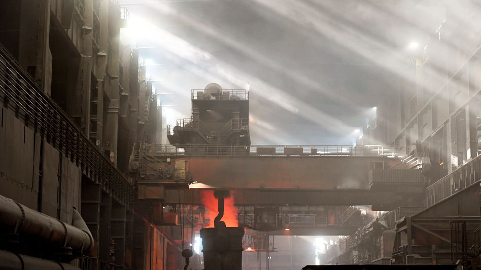 Stahlindustrie: Kein Crash, sondern allmähliche Entlüftung