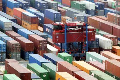 Boom: 356 Millionen Container wurden 2004 weltweit umgeschlagen - 2014 dürften es mehr als doppelt so viele sein