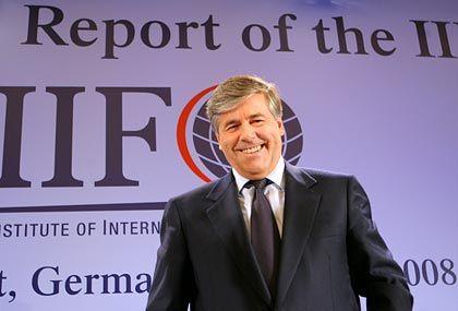 """""""Schwachstellen früher erkennen"""": IIF-Präsident Ackermann"""