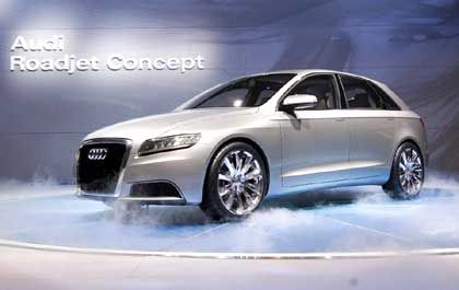 Neue Modelle: Neben den Zahlen präsentiert Audi auch neue Modelle auf der Messe