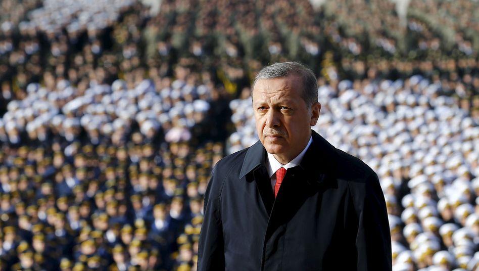 """Türkischer Präsident Erdogan: """"Eine der Top-Zehn-Volkswirtschaften"""""""