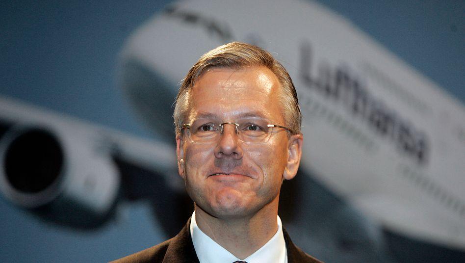 Optimistisch trotz Gegenwind: Lufthansa-Chef Christoph Franz