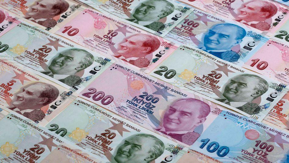 Türkische Lira: Seit Jahresbeginn um 40 Prozent abgewertet