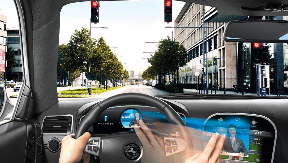 Auto-Bediensysteme: Schalter und Knöpfe waren gestern