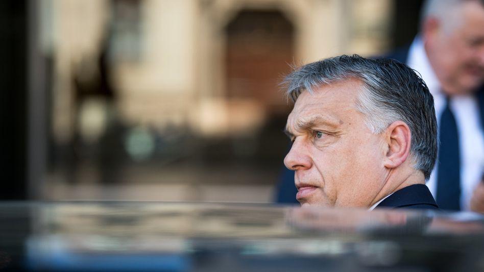 Ungarns Regierungschef Viktor Orban: Verstöße gegen den Rechtsstaat