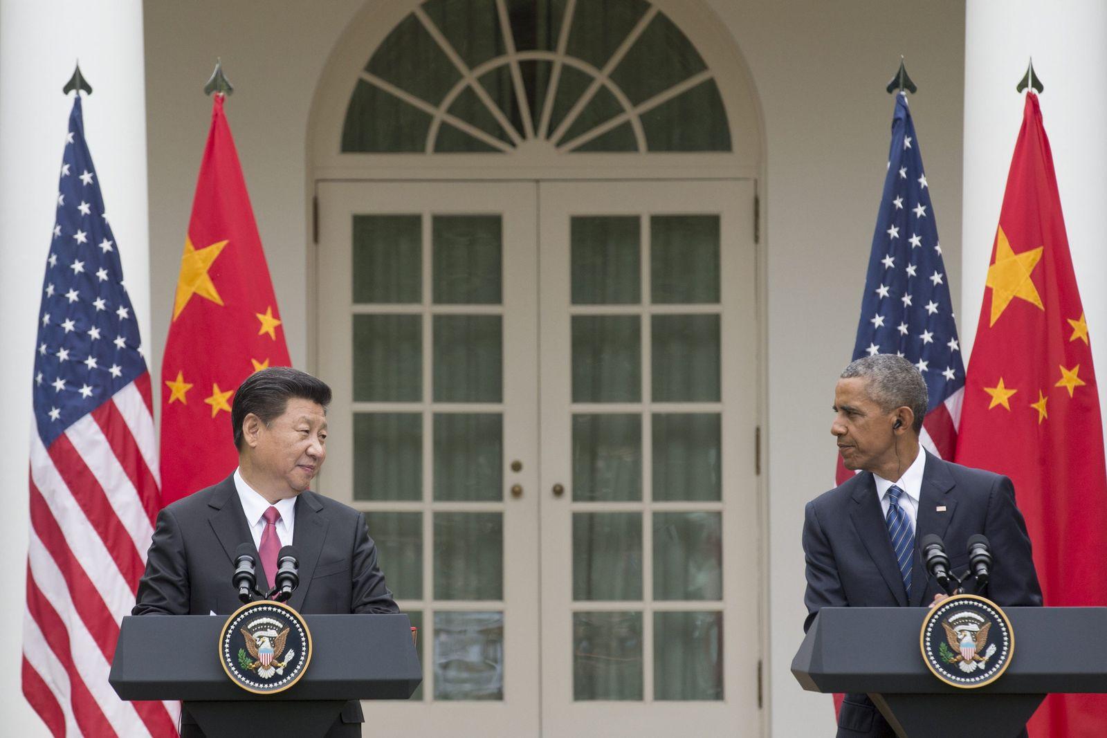 Xi Jinping / Barack Obama / Weißes Haus