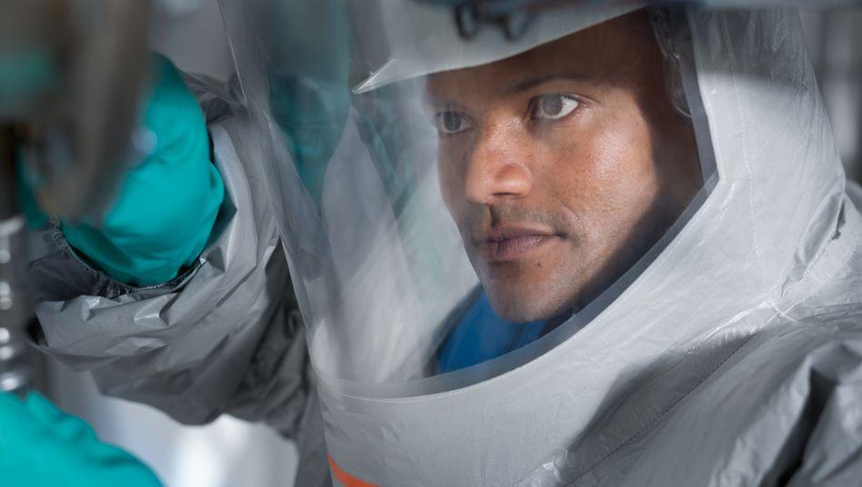 Schutzmaske von Drägerwerk - hilft auch gegen Corona-Crash an der Börse