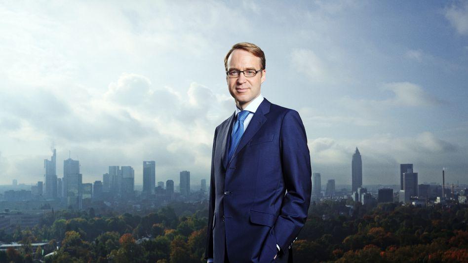 Bundesbankchef Jens Weidmann hätte gern mehr Einfluss bei der Bankenaufsicht - nun muss er sich Bafin und Bundesfinanzausschuss beugen