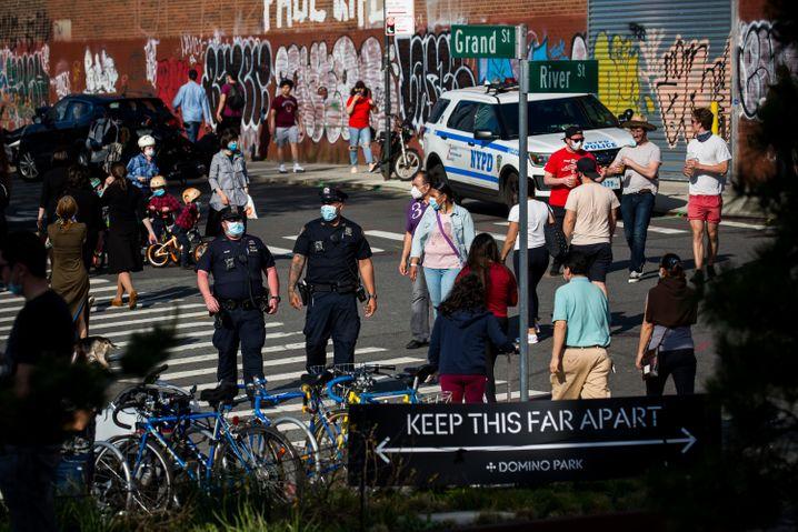 Todeszahl in New York erstmals wieder zweistellig