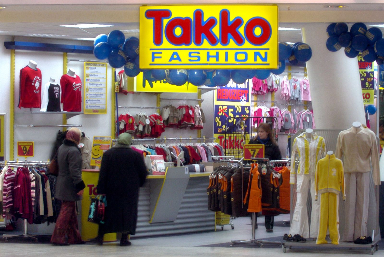 "Mode-Discounter ""Takko"""
