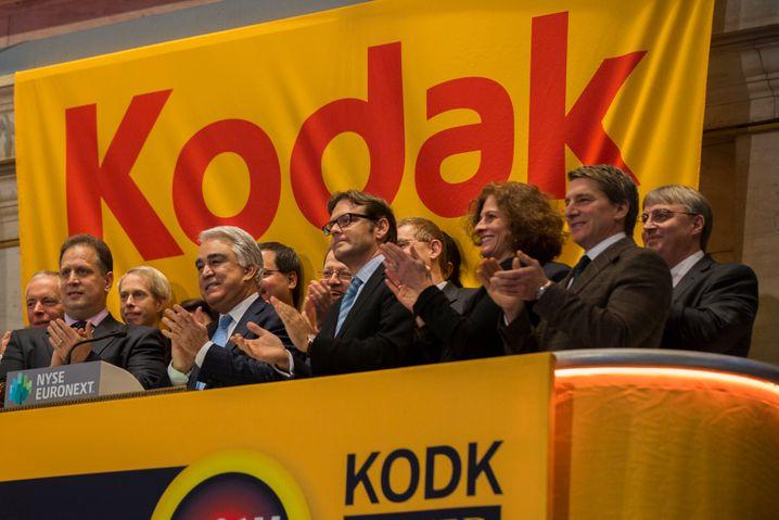 Rückkehr an die Börse: Vom einst stolzen Fotokonzern Kodak bleibt nach der Pleite nur ein kleiner Rest