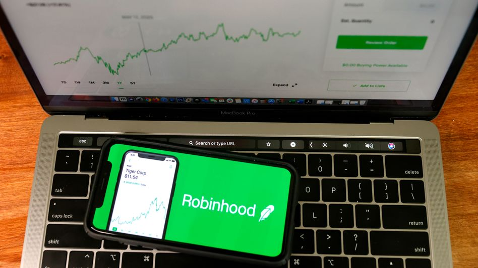 Trading-App Robinhood: Neuer, einfacher Zugang zu den Finanzmärkten – und zu einem gewissen Nervenkitzel
