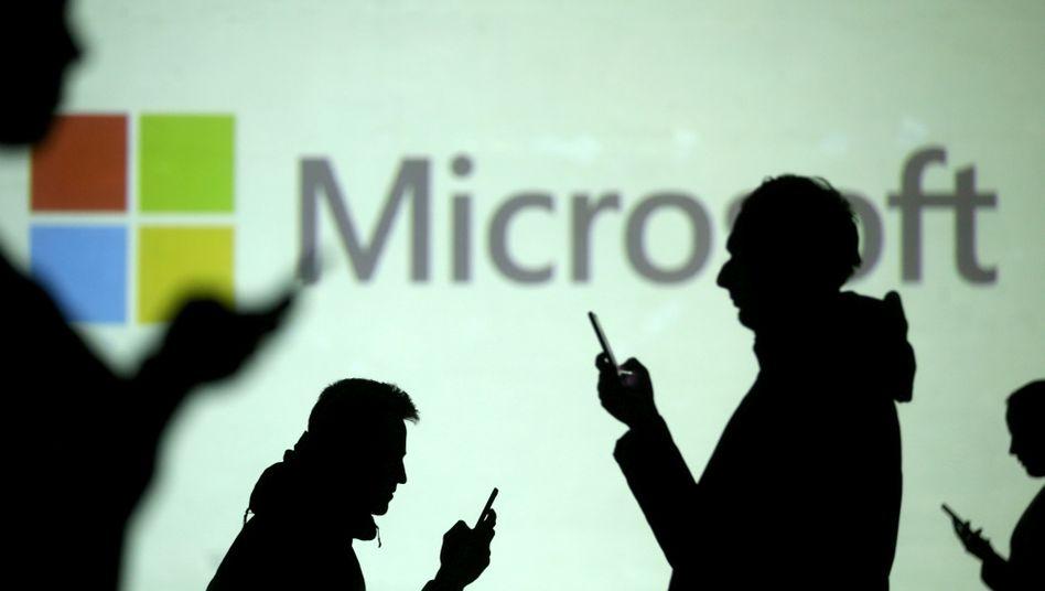Produkte von Microsoft werden immer stärker nachgefragt