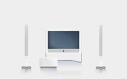 Loewe-Connect-Heimkino: Luxus-Geräte mit Festplatte DVB-Tuner und USB-Anschluss