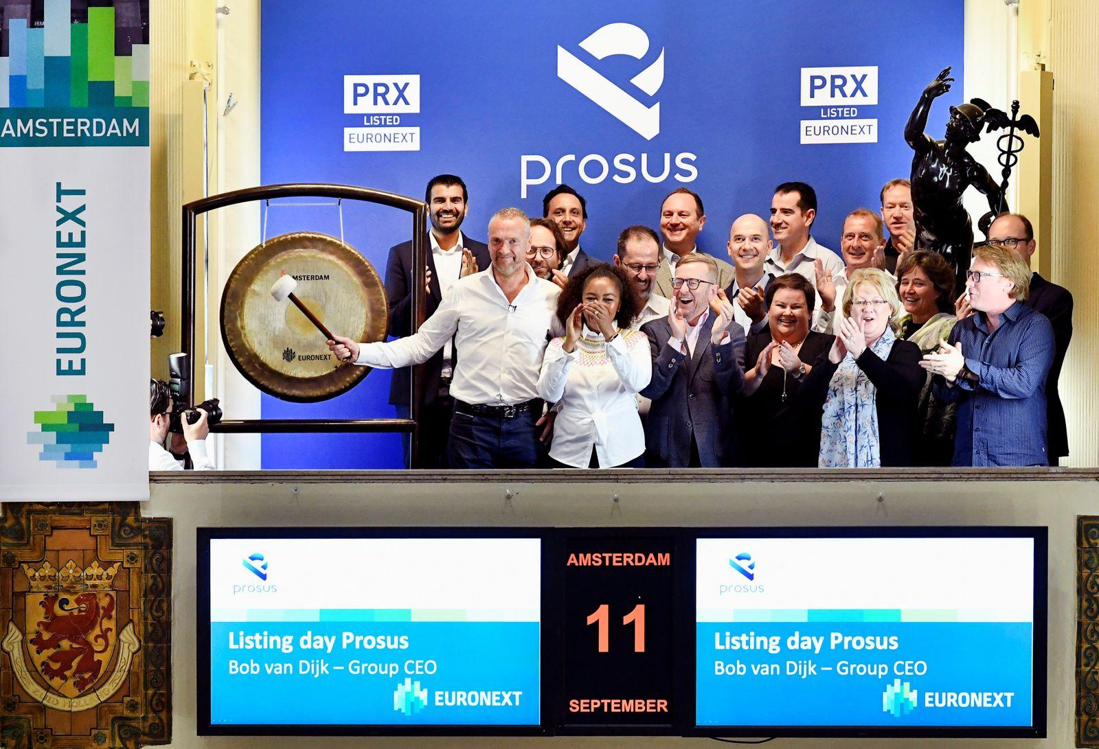 Amsterdam Börse / Prosus