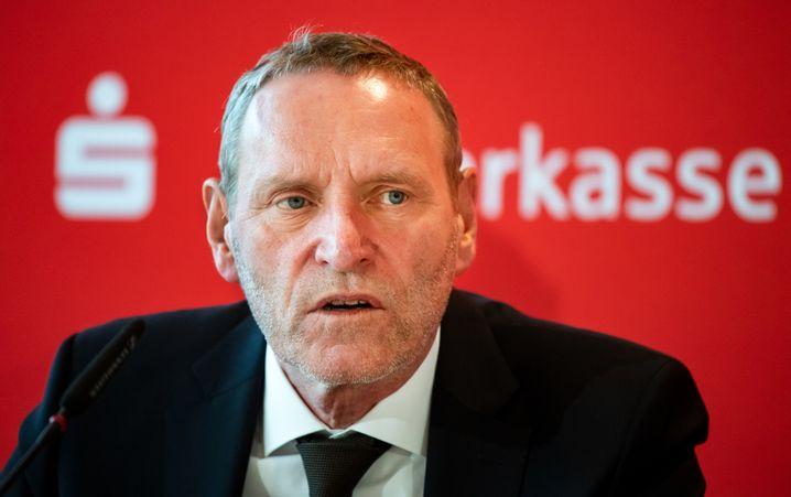 Arbeitet am Großprojekt Sparkassenzentralbank: DSGV-Präsident Helmut Schleweis