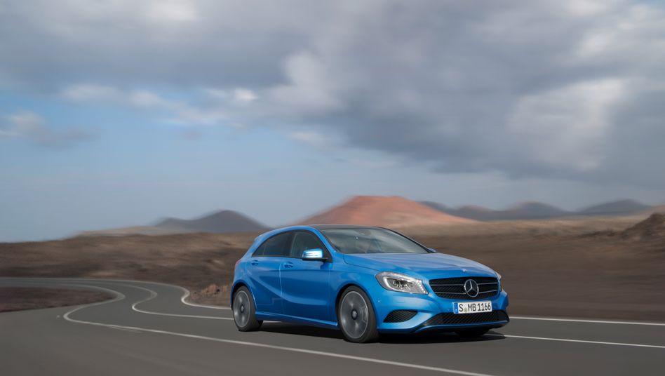Neue A-Klasse: Sie soll auch die Kassen der Mercedes-Benz Bank füllen