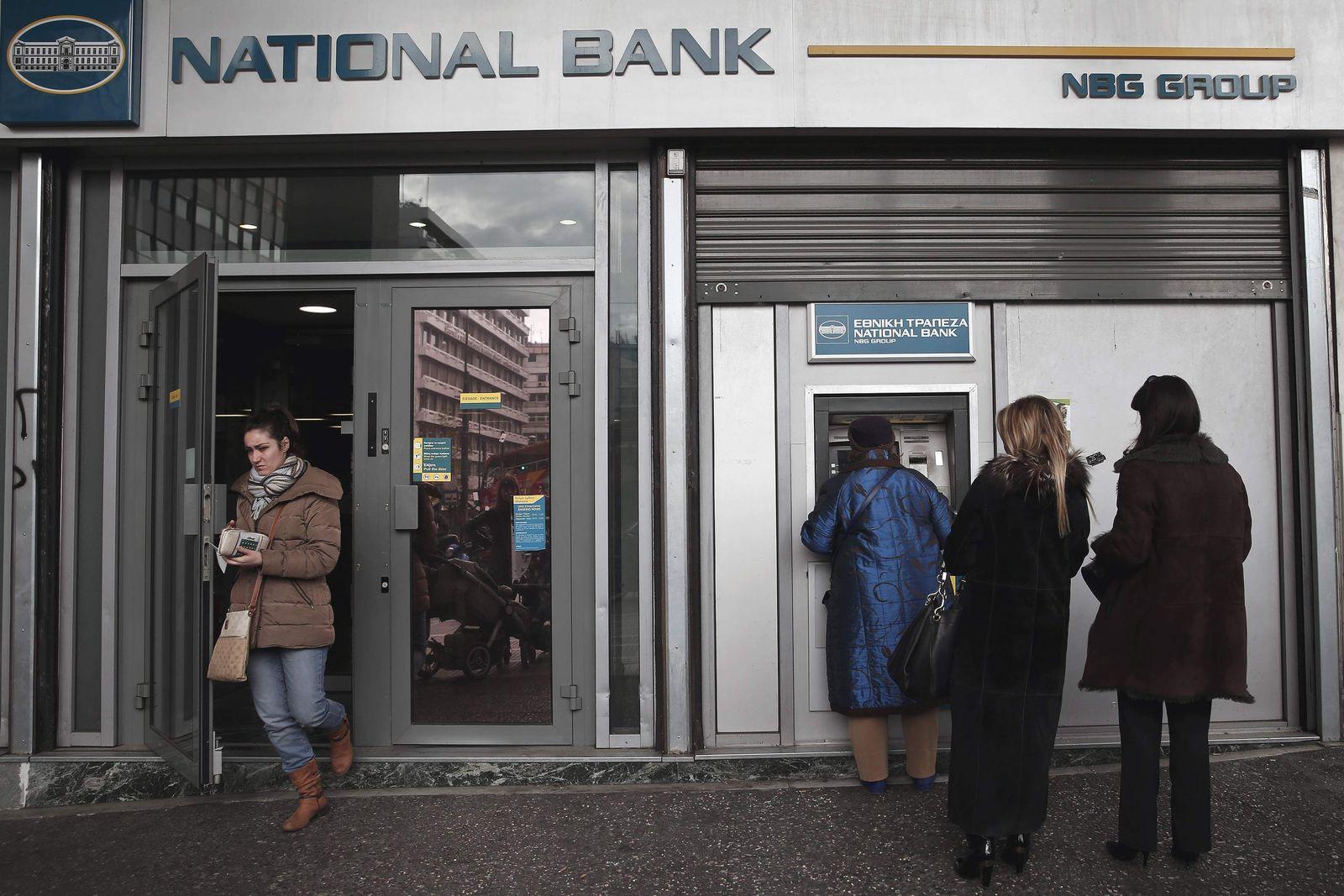 Griechenland / Bank / Athen