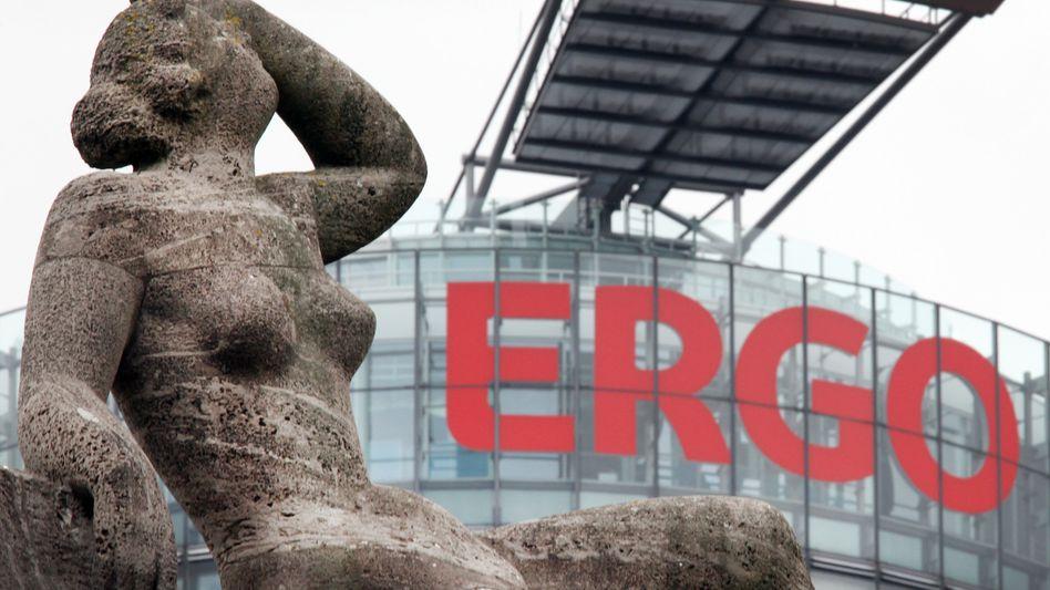 Ergo-Zentrale Düsseldorf: Der geplante Verkauf von Millionen Lebensversicherungen sorgte auch für heftige Kritik aus den eigenen Reihen