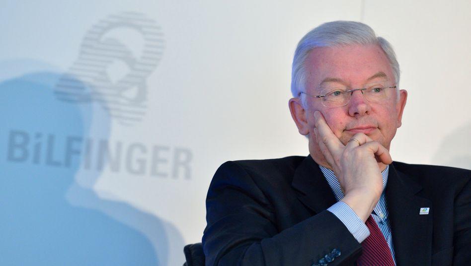 Bestreitet alle Vorwürfe: Ex-Vorstandschef Roland Koch von Bilfinger