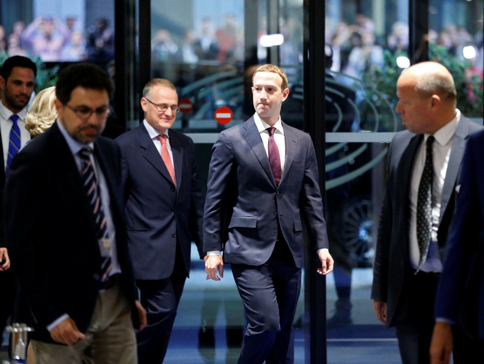 Facebook / Zuckerberg-Anhörung / EU