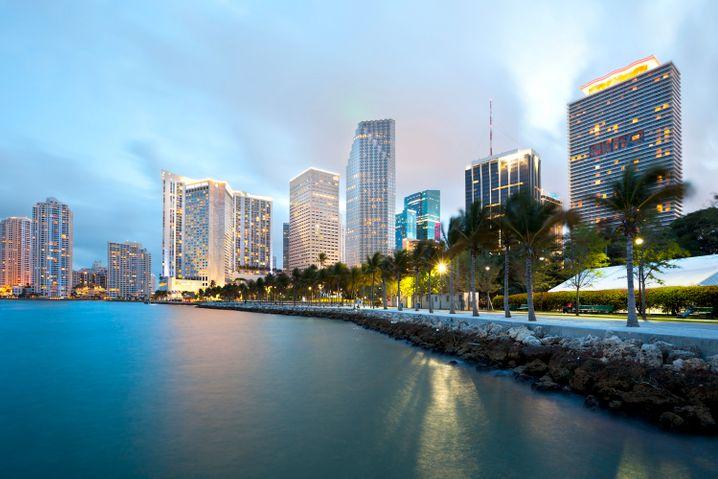 Betongold über Palmen: Reiche Lateinamerikaner bringen ihr Geld in Miami in Sicherheit