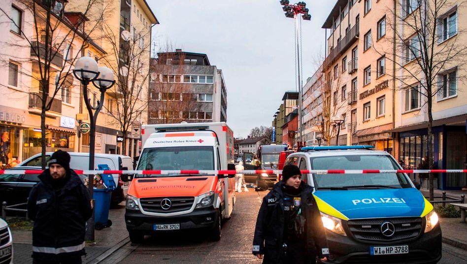 Schock in Hanau: 11 Tote sind nach einem Gewaltakt zu beklagen.