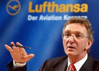 """Lufthansa-Chef Mayrhuber: """"Nur profitable Arbeitsplätze sind sicher"""""""