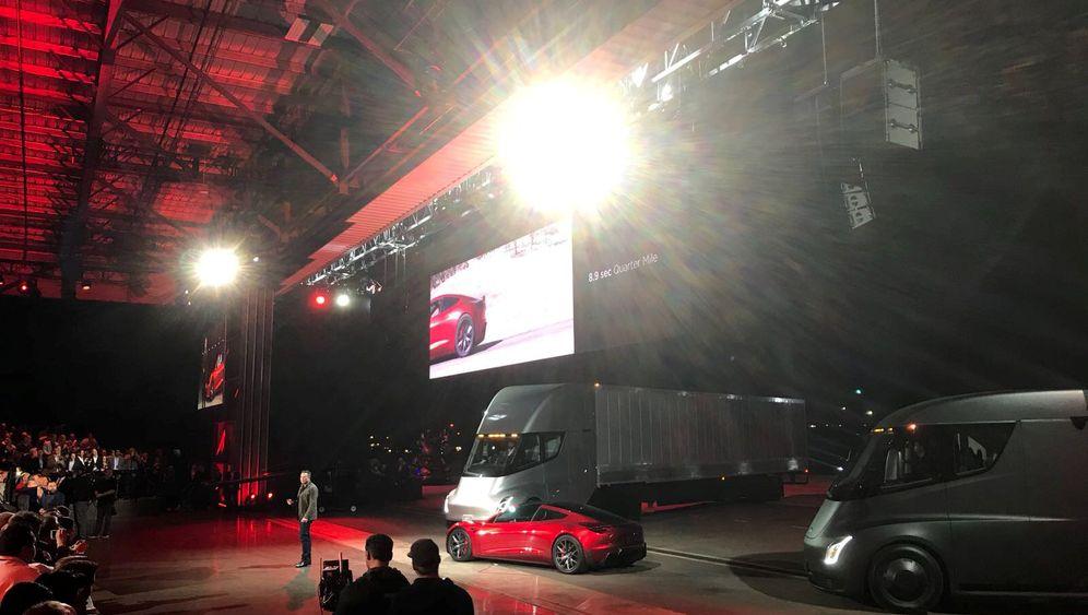 Lkws mit Elektroantrieb: Gegen diese E-Trucks tritt Teslas Semi an