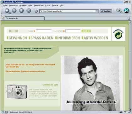 Ausreden und andere Dreistigkeiten: Die Jugendaktion des DSD verwertet sie auf ihrer Internetseite wieder