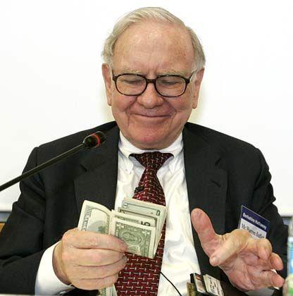Milliardenerlös mit Petrochina: Warren Buffetts Investmentholding Berkshire Hathaway hält derzeit knapp 50 Milliarden Dollar in Cash