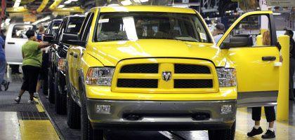 Die Zeit läuft ab: Bis Ende April muss Chrysler der US-Regierung einen endgültigen Sanierungsplan vorlegen.