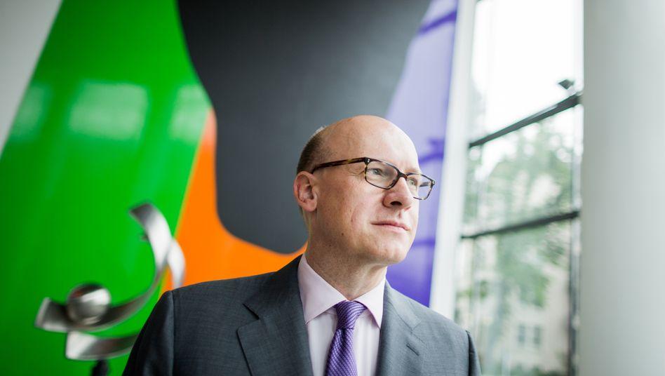 Zu laut gebrüllt: Konzernchef Markus Rieß