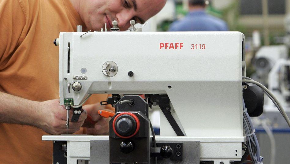 Produktion bei Pfaff: Seit Jahren ein schwieriges Geschäft