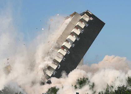 Sprengkraft: Nicht nur für den US-Immobilienmarkt, sondern für den gesamten Finanzmarkt besteht Ansteckungsgefahr