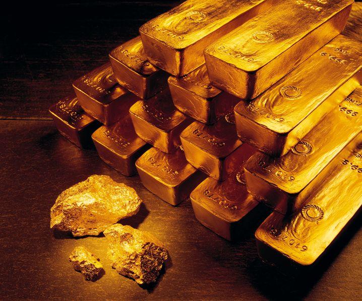 Heiß geliebt und teuer: Die Deutschen besitzen so viel Gold wie nie.