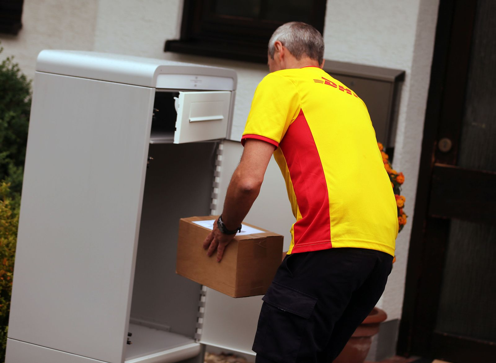 Deutsche Post - Paketkasten