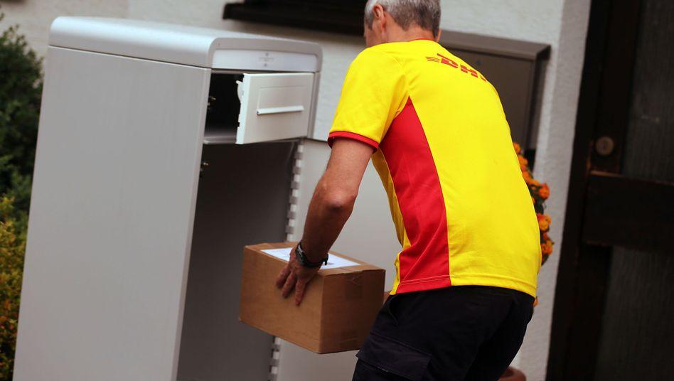 Paketbote: Lohnkosten näher an die von UPS oder TNT bringen