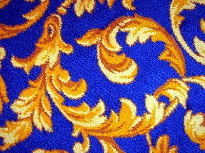 """Teppich im Ballsaal """"Queens Room"""": Mischung aus Art déco und amerikanischem Lifestyle"""