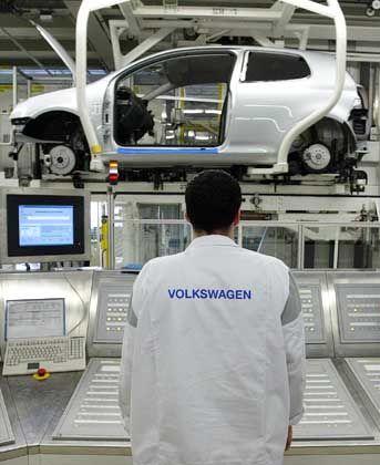 Volkswagen-Produktion: Golf Plus in Wolfsburg, Bora und Variant in Mexico