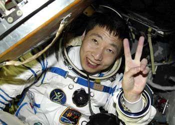 Astronaut Yang Liwei: China ist nach Russland und den USA das dritte Mitglied im Klub der bemannten Raumfahrernationen.