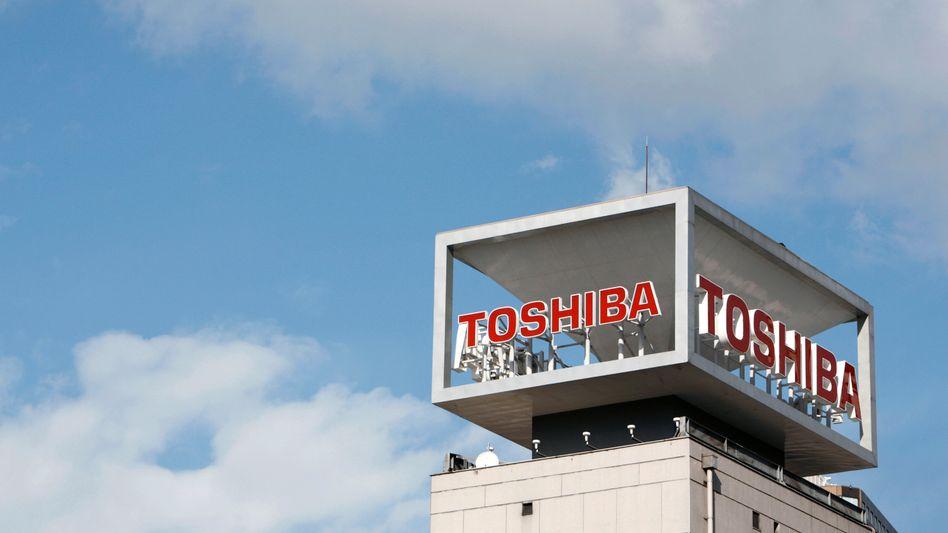 Toshiba-Zentrale in Tokio: Zukauf in der Schweiz