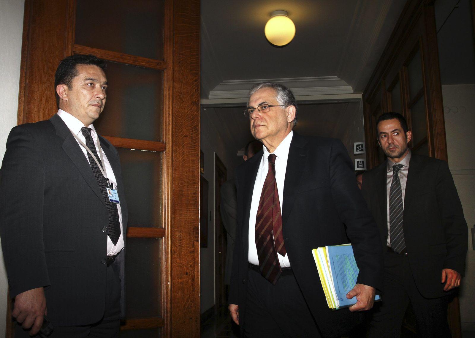 GREECE-PM Papademos Griechenland Krise