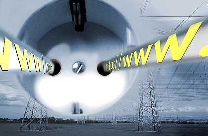 Kandidat 3: Powerline. Nach gut einem Jahr musste RWE die Pläne vom Internet aus der Steckdose wieder begraben.