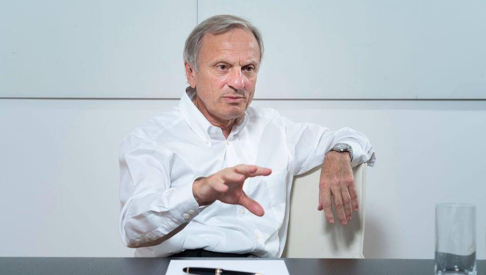 Brandt-Satz: Aufsichtsratschef Werner Brandt muss rasch eine Haltung zum neuen Großaktionär finden.