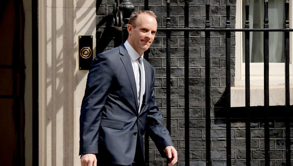 "Brexit-Minister Dominic Raab: ""Man muss vorbereitet sein"""