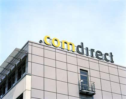 Comdirect Zentrale in Quickborn: Gewinneinbußen - wie erwartet