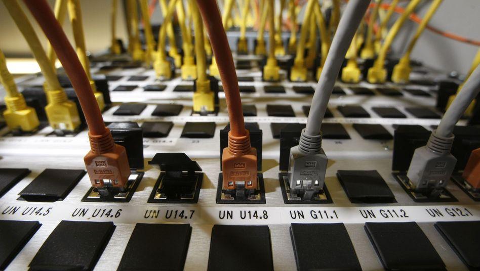 Internetserver: Daten sollen für sechs Monate gespeichert werden. Die FDP blockiert die Umsetzung der EU-Richtlinie bislang