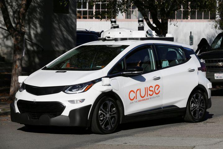 Die GM-Tochter Cruise Automation testet ihre Selbstfahr-Technologie in umgebauten Chevrolet-Bolt-Modellen