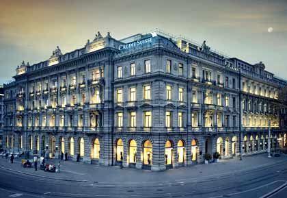 """Schweizer Bankhaus Credit Suisse: """"Wir sind bereit, bei der Untersuchung voll zu kooperieren"""""""
